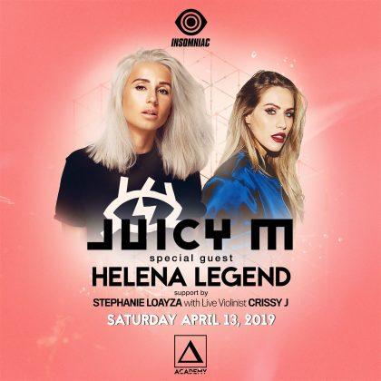 Juicy M with Helena Legend