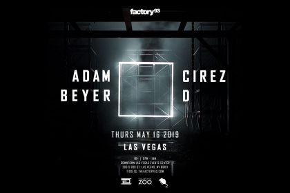 Announcing: Adam Beyer x Cirez D in Las Vegas
