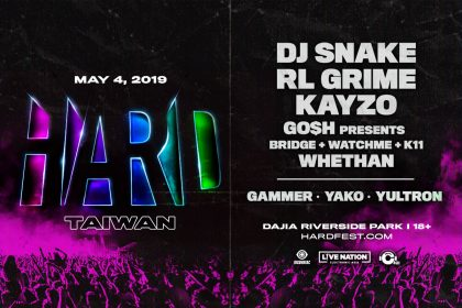 HARD Taiwan Lineup Announced
