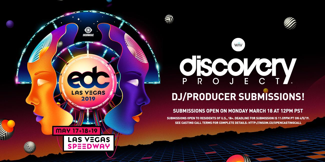 EDC Las Vegas 2019: DJ / Producer | Insomniac
