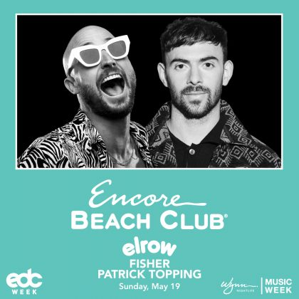 Elrow ft. Fisher & Patrick Topping