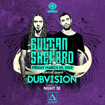 Sultan + Shepard with DubVision