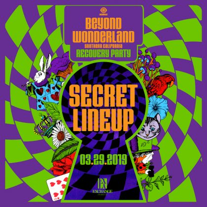 Beyond Wonderland Recovery Party (Secret Lineup)