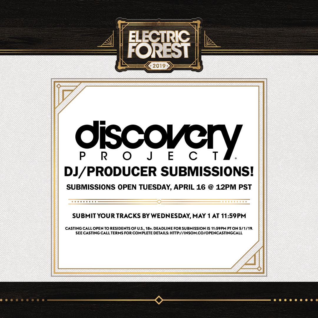 Electric Forest 2019: DJ / Producer | Insomniac