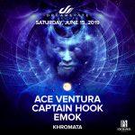 Ace Ventura, Captain Hook & Emok