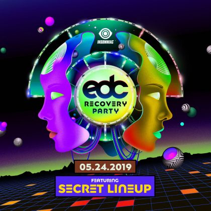 EDC Recovery Party (Secret Lineup)