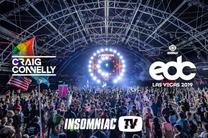 Craig Connelly at EDC Las Vegas 2019