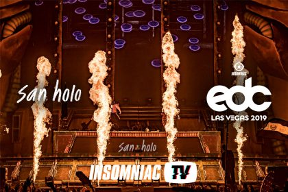 San Holo at EDC Las Vegas 2019