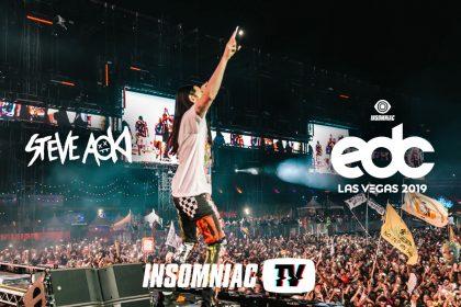 Steve Aoki at EDC Las Vegas 2019