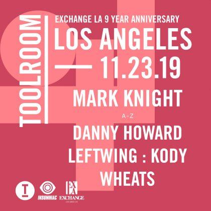 Toolroom Los Angeles