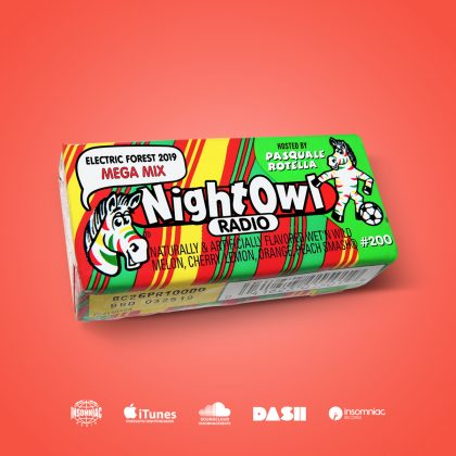 'Night Owl Radio' 200 ft. Electric Forest 2019 Mega-Mix