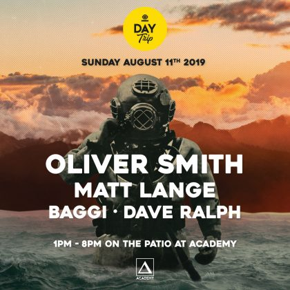 Oliver Smith with Matt Lange