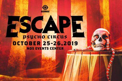 Announcing: Escape: Psycho Circus 2019