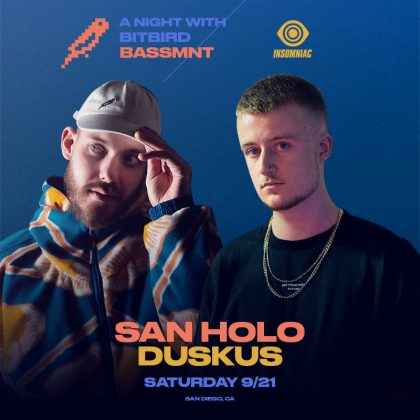 San Holo with Duskus
