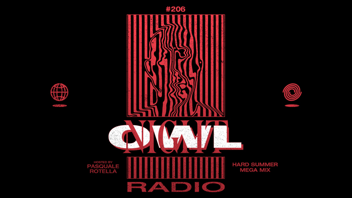 Night Owl Radio' 206 ft  HARD Summer 2019 Mega-Mix | Insomniac