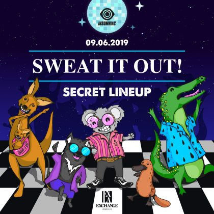 Sweat It Out! (Secret Lineup)