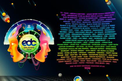EDC Orlando Lineup Announced!