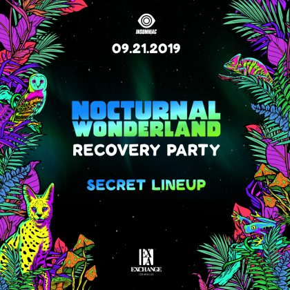 Nocturnal Wonderland Recovery Party (Secret Lineup)
