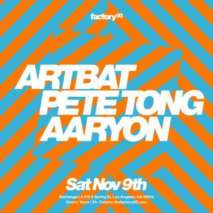 ARTBAT & Pete Tong