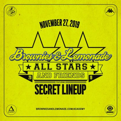 Brownies & Lemonade All-Stars & Friends (Secret Lineup)