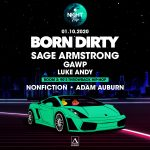 Born Dirty, Sage Armstrong, GAWP & Luke Andy