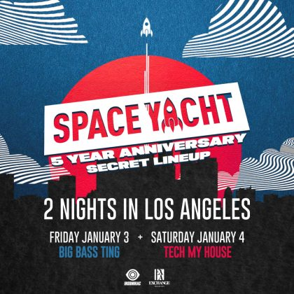 Space Yacht 5-Year Anniversary (Secret Lineup)