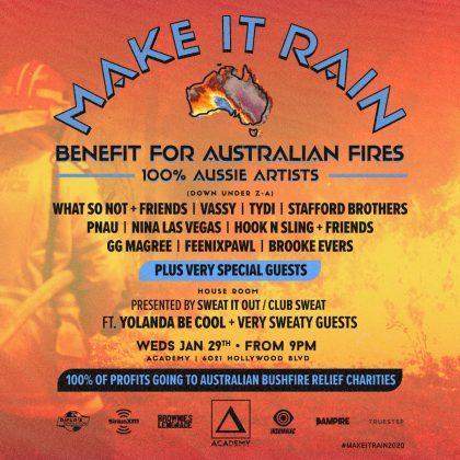 Make It Rain: Benefit for Australian Fires