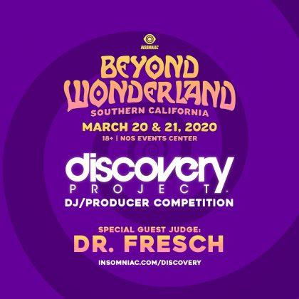 Beyond Wonderland SoCal 2020: DJ / Producer