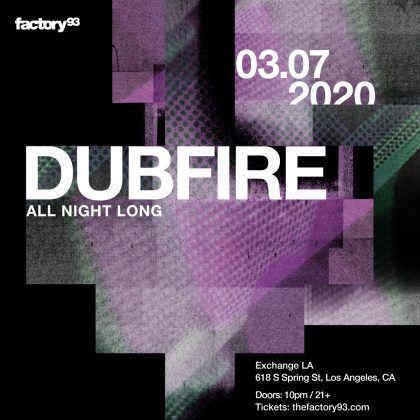 Dubfire (All Night Long)