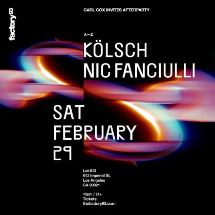 Kölsch & Nic Fanciulli