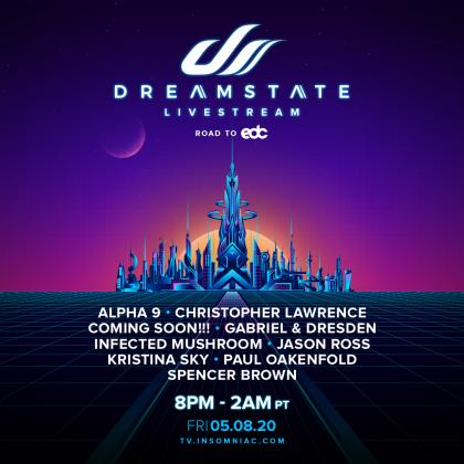 Dreamstate Livestream