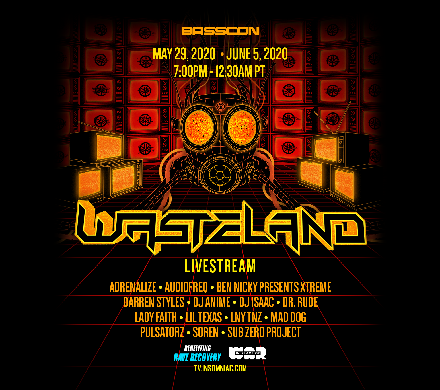 Wasteland Live Stream