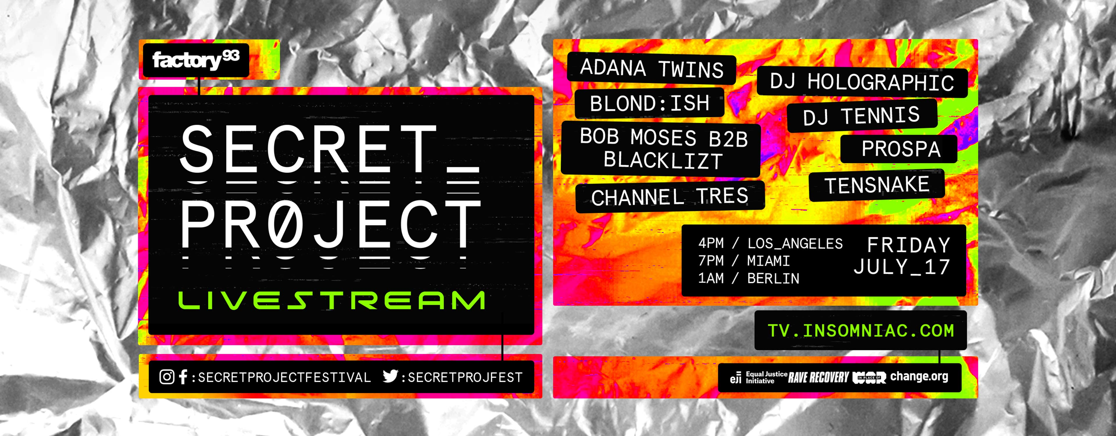 Secret_Project Live Stream