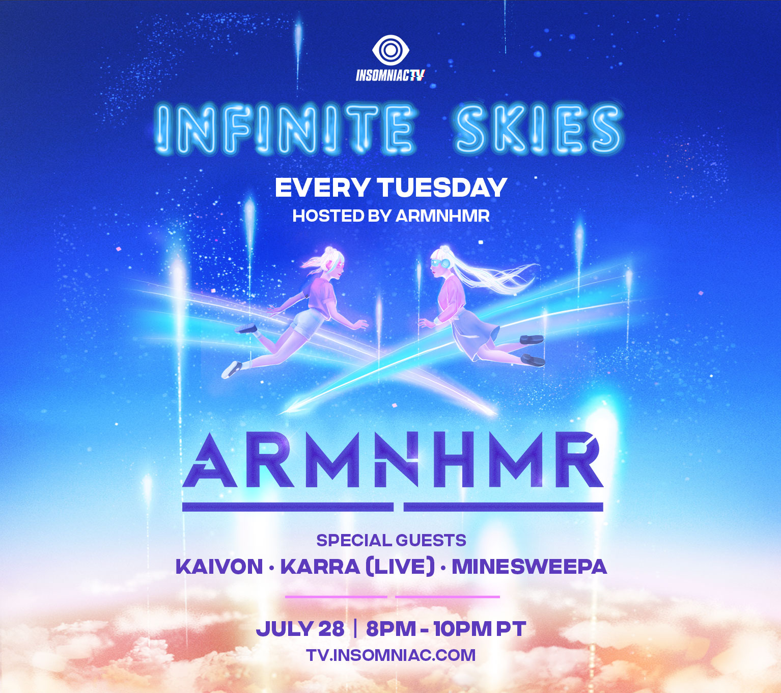 ARMNHMR Infinite Skies Live Stream