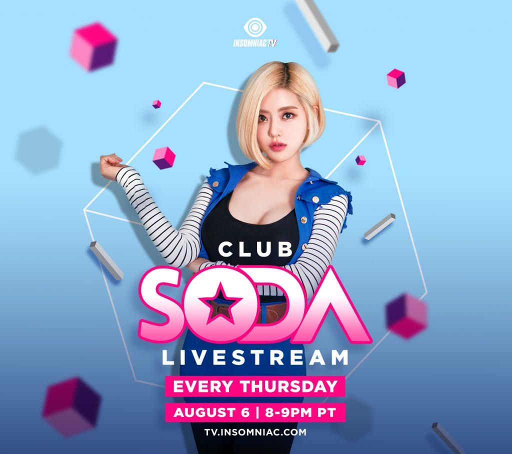Club Soda Live Stream
