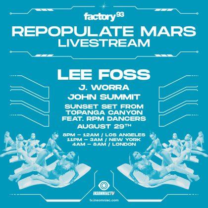 Repopulate Mars Livestream