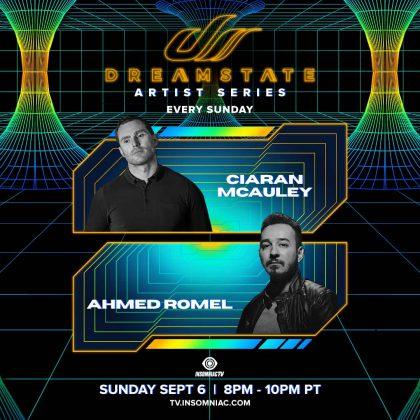 Dreamstate Artist Series: Ciaran McAuley & Ahmed Romel