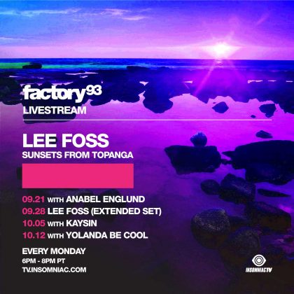 Lee Foss: Sunsets From Topanga