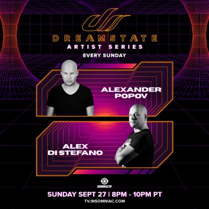 Dreamstate Artist Series: Alexander Popov & Alex Di Stefano