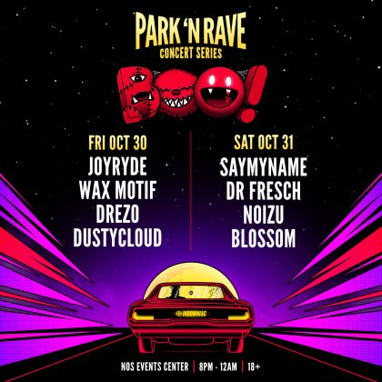 BOO! Park 'N Rave Concert Series
