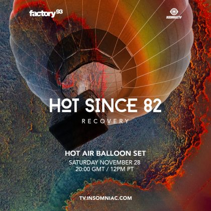 Hot Since 82: Recovery Hot Air Balloon Set