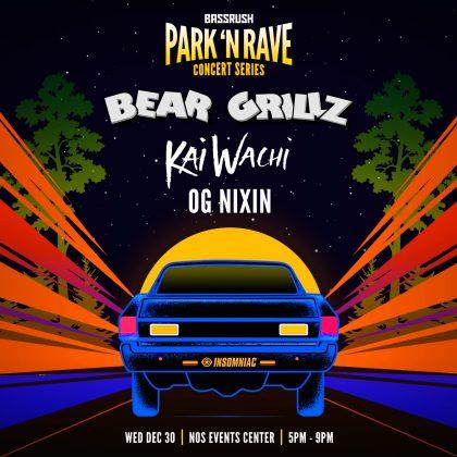 Bear Grillz: Park 'N Rave Concert Series