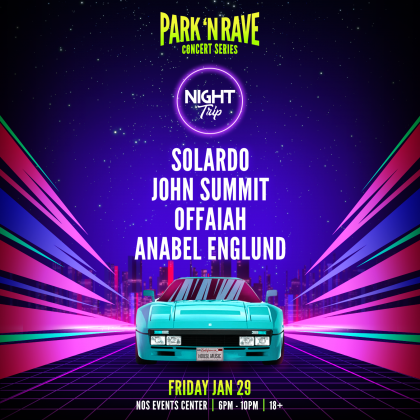 Night Trip: Park 'N Rave Concert Series