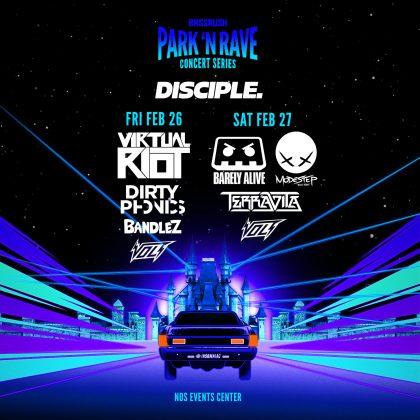 Disciple: Park 'N Rave Concert Series