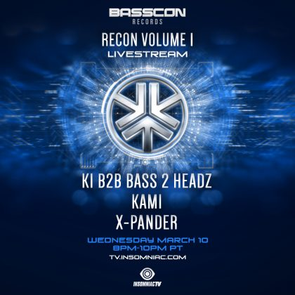 Basscon Records: Recon Volume 1 Livestream