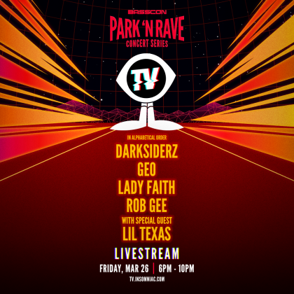 Basscon: Park 'N Rave Livestream