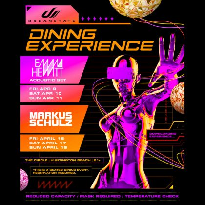 Emma Hewitt: Dreamstate Dining Experience