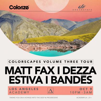 Colorscapes Volume Three Tour