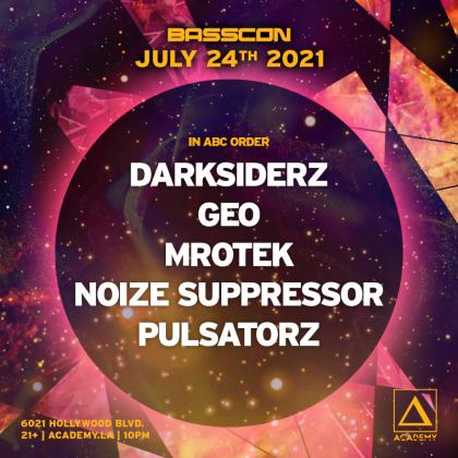 Noize Suppressor, Darksiderz, Geo, Mrotek, Pulsatorz