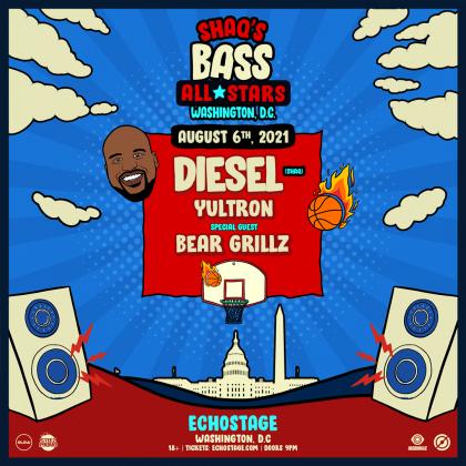 Shaq's Bass All-Stars ft. Diesel, Yultron, Bear Grillz